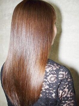 エルズガーデン(L's Garden)の写真/大人女性必見のエイジングケア◇一時的な手触りの良さではなく、根本的な髪質改善でいつまでも若々しく♪