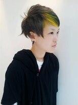 ロベック モトヤマ(Lobec MOTOYAMA)鋭いラインをカジュアルに抜いたヘア
