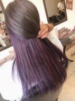 purple×ash