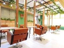 アグ ヘアー エニィー 飾磨店(Agu hair any)の雰囲気(こだわり抜かれた空間。贅沢なサロンtime。)