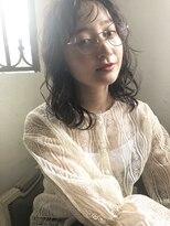 ヘアーサロン リアン 鴻巣店(hair salon Rien)#シースルーバング#無造作