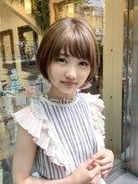 オブヘアー 鷺沼店(Of HAIR)☆ミニボブ☆