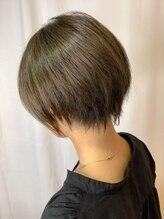 ヘアーメイク トレコローリ(hair make trecolori)【trecolori 津田沼】ミントアッシュ