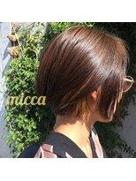 ミッカ(micca)【micca下北沢】前下がり・耳かけボブインナーカラー