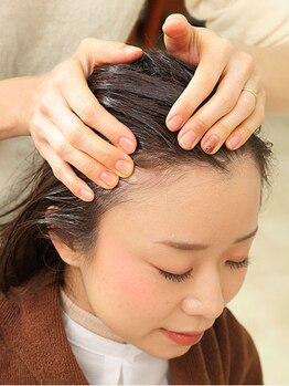 ファイブヘアーブティック(FIVE HairBoutique)の写真/【オーガニックの最高峰ブランド《ローランド取扱》】強い紫外線や汗、皮脂などで弱った頭皮を整えよう☆