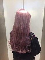 ヘアサロン ドット トウキョウ カラー 町田店(hair salon dot. tokyo color)【White lavenderpink】ダブルカラーカラーリスト田中【町田】