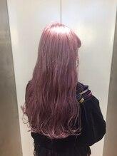 ドット トウキョウ カラー 町田店(dot.tokyo color)【White lavenderpink】ダブルカラーカラーリスト田中