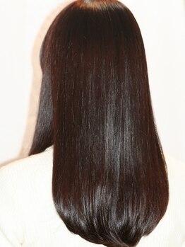 ビューティシモ 狭山(Beautissimo)の写真/【大人気のうるツヤトリートメント】贅沢なダメージケアがオススメ◎頭皮に潤いを与え美髪へと導きます…◇
