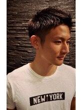 ヒロギンザ 浜松町店(HIRO GINZA)スパイキーツーブロックショート<理容室>【浜松町】【大門】