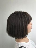 ヘアメイク オブジェ(hair make objet)ブルージュボブ