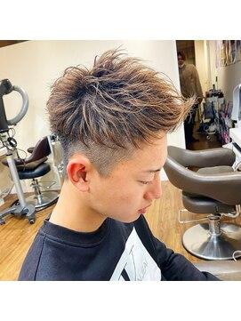 横浜メンズヘア三代目登坂広臣ツーブロックショートレイヤー短髪 L クレア 能見台 Crea のヘアカタログ ホットペッパービューティー