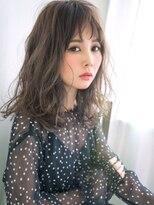 リー 神楽坂(Re-)#オン眉#フェアリー☆大人たおやかウェーブ
