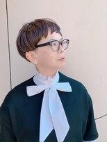 ラトリエコンタン(L´atelier Content)【LatelierContent yumi】女子らしい刈り上げスタイル
