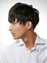 カインド 南青山(hair&make up KIND)【定番スパイラルパーマ】 2ブロックメンズショート