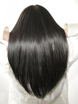 """モガ(moga)の写真/【髪質改善】""""30代からのエイジングケア""""通うたび綺麗になれる当店のTRで髪本来の艶と手触りが手に入る♪"""