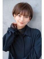 ☆BUENAVISTA☆大人かわいい小顔カット/耳かけショートマッシュ