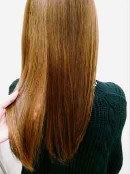 ヘアメイク プラウド レイ(hair make PROUD ray)の写真/髪ストレスを解消し、触れてみたくなるような自然で柔らかい曲線美に…♪