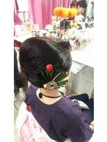 ヘアーアンドメイクサロン ハナココ(hair&make salon hana Coco)お祭りアップ 神輿スタイル!夏 花火 イベント 誕生会 水戸