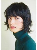 レガーレ(Legare)黒髪ショートのマッシュウルフ