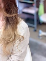 ヘアーメイク リボーン ムーヴ(hair make re:bbon move)毛先グラデーション×スモーキートパーズ