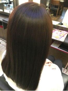 ネクサス ドゥ 四街道店(NEXUS-DO)の写真/日本で取り扱いできるサロンは1%のみ!希少性の高いツヤ髪Trを使用◎質感を整える毛髪改善も大好評!