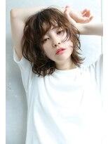 【Blanc/福岡天神】エッジショート/くびれセミディ/無造作カール
