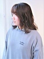 ヘアーライズ 池袋東口店(hair RISE)外国人風透明感ミルクティーカラー