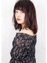 ヘアサロン ガリカ 表参道(hair salon Gallica)『 バイオレットグレージュ 』 外国人風 小顔 マッシュウルフ ♪