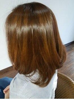 アーカ(Arca)の写真/水素トリートメントで健康髪を実現♪美しく艶めく髪、上質な質感で大人女性の魅力を最大限引き出します☆