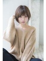 ジョエミバイアンアミ(joemi by Un ami)【joemi】丸みマニッシュショートボブスタイル(小倉太郎)