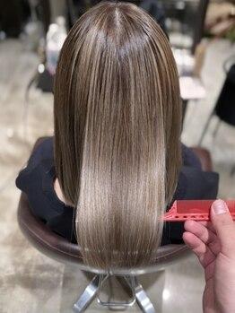 ラボー ノースプラザ店(LA'BO)の写真/細胞レベルで毛髪を復元!【キラ水】で潤いヘアに髪質改善♪大人女性向けトリートメント【コアミー】取扱店