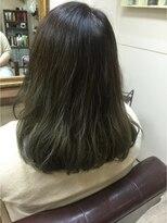 ファシオ ヘア デザイン(faccio hair design)グレイグラデーション