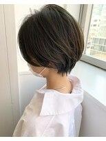 モッズヘア 仙台PARCO店(mod's hair)【志賀】ショートボブ
