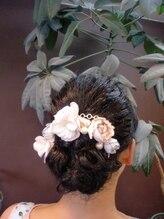 ヘアーアンドエクステンション ラファ(Hair&Extension rafa)シンプルまとめ髪