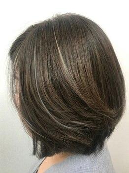 美容室 ブランシュ(Blanche)の写真/【女性専用サロン*】〈髪と頭皮に優しい薬剤使用〉髪を大切にするアナタに毎月のご褒美を♪キレイが続く。