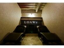 ロウイ(LOAWe)の雰囲気(最高級のシャンプー台で贅沢な時間を...)