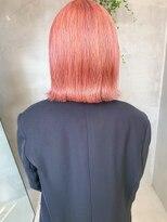 テトヘアー(teto hair)ペールピンク、薄いピンク、ピンクベージュ、ブリーチカラー