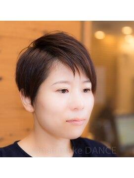 ヘアーメイク ダンス(hair make DANCE)☆COOL BEAUTY レディースアシメショート☆