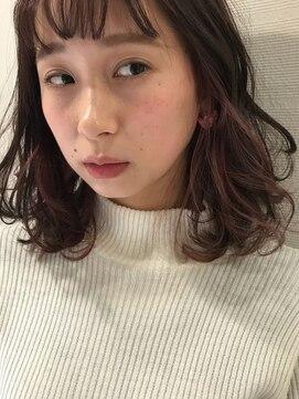 ヘアーメイクデザインパフ(HairMakeDesign Paf)インナーカラーミディアム