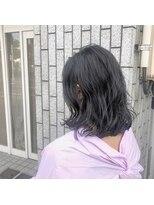 アルマヘアー(Alma hair by murasaki)パーマでラフウェーブ