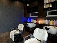 ナチュラル8 NATURAL8 ヘアースタジオ Hair studioの雰囲気(薄暗いシャンプーブースで眠りに入ってください!!)