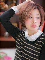 *+COVER HAIR+*…ナチュラル&クール★ショートボブa
