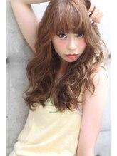 アフェクト (affect)【affect】厚めバング・ランダムカール・ロング