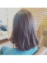ヘアーエスクールエミュ(hair S. COEUR emu)セミディ