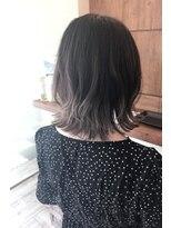 ヘアメイク シュシュ(Hair make chou chou)外ハネボブグラデーションカラー【chou-chou 北林夏実】
