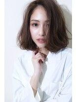 マイ ヘア デザイン(MY hair design)【大人フェミニン】ロブなココアブラウン