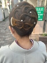 ヘアセットアンドメイクアップ シュシュ(Hair set&Make up chouchou)和髪アレンジ