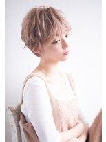 リュドール 小池 デザインカラー 美髪 デジタルパーマ ショート