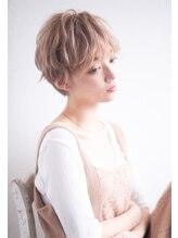 リュドール 栄(Rue D'or)リュドール 小池 デザインカラー 美髪 デジタルパーマ ショート