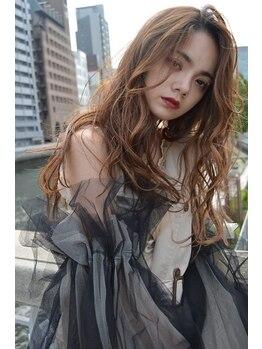 ヘアーアート ジュース 御幣島(Hair art juice)の写真/【御幣島駅☆】季節を楽しもう♪痛みが気になる方もオーガニックカラー使用でダメージレスな仕上がりに☆
